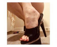 Very Loved Slippers, Flip Flops, Dress Heels, Stripper Heels and Foot Photos
